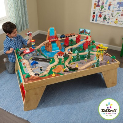 Игровой стол Train Set and Table Kidkraft 18001