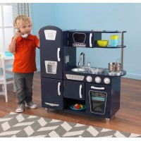 Детская кухня Kidkraft Navy Vintage Kitchen 53296