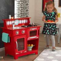 Детская кухня Kidkraft Red Classic Kitchen 53362