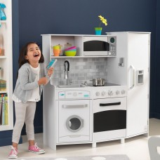 Детская кухня Kidkraft Large Play Kitchen White Lights And Sounds 53369
