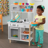 Детская кухня Kidkraft All Time Play Kitchen With Accessories 53370