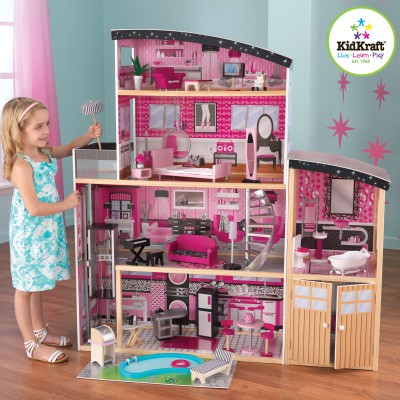 Кукольный домик Kidkraft Блеск Sparkle Mansion Dollhouse