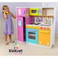 Детская кухня Kidkraft Delux Big and Bright