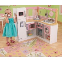 Детская кухня Kidkraft Grand Gourmet Corner Kitchen