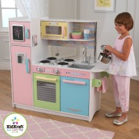 Детская кухня Kidkraft Large Pastel Kitchen