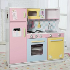 Детская кухня Kidkraft Large Pastel Kitchen 53181